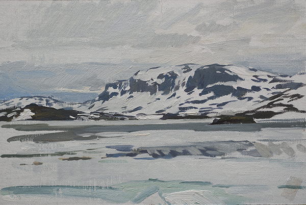 Mountains in Telemark - Telemark Sketches