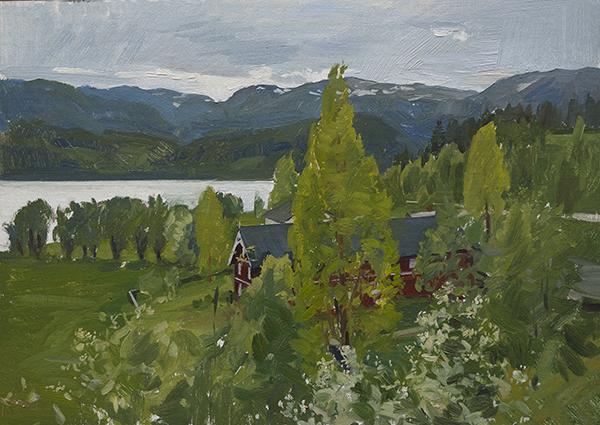 Vinje Farm - Telemark Sketches