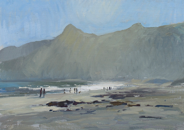Hout Bay Afternoon Plein Air Painting in Cape Town, South Africa