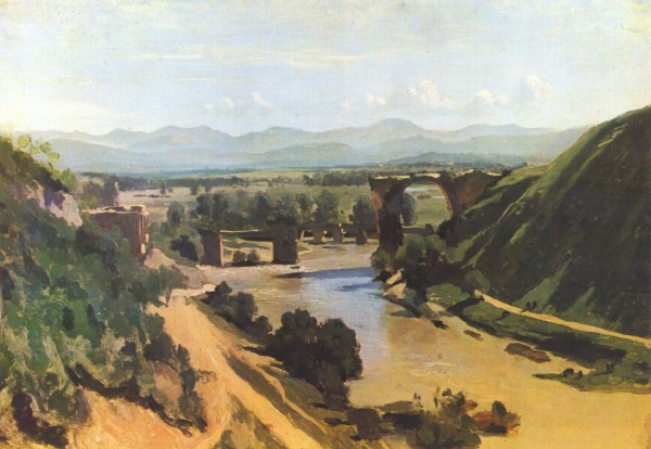 Camille Corot - The Bridge at Narni.