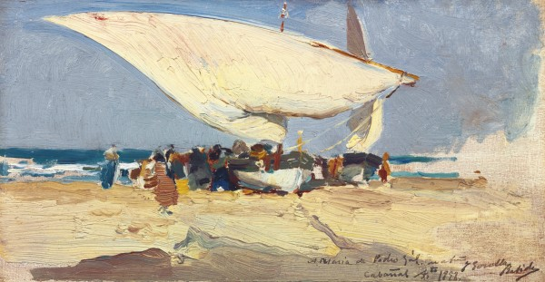 Joaquín Sorolla y Bastida - The Return of the Catch, Valencia Beach