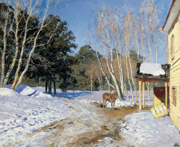 Isaac Levitan - March.