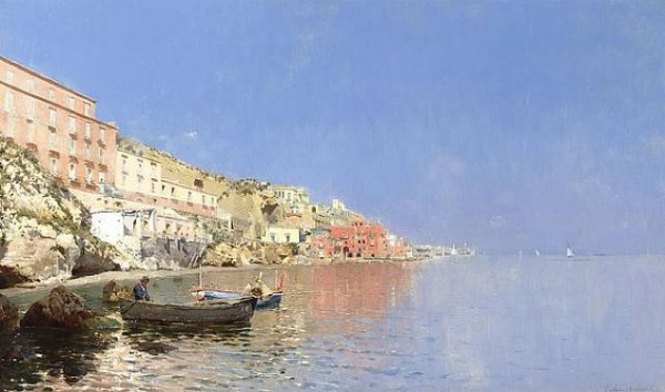 Rubens Santoro - On the Mediterranean Coast