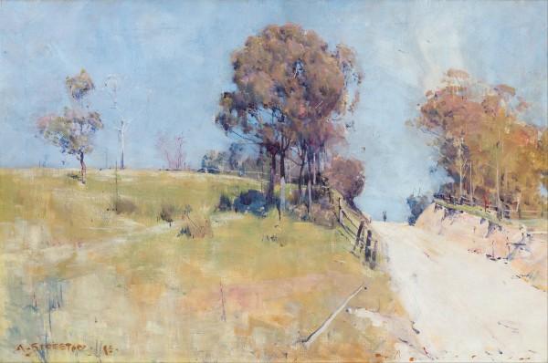 Arthur Streeton - Sunlight.
