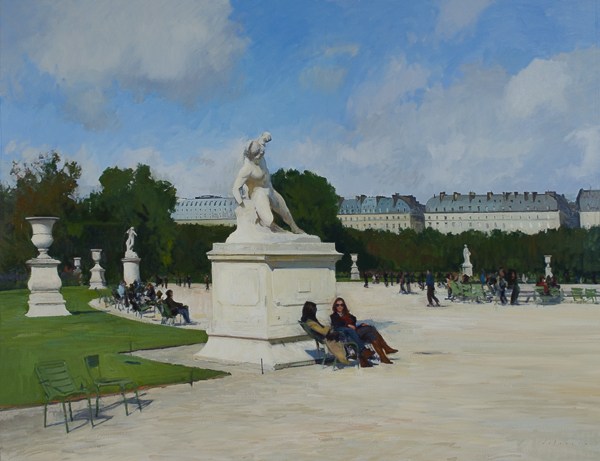 Afternoon in the Tuileries Recent Larger Landscape Paintings (2014)