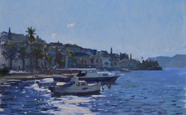 Afternoon Light Korcula Korčula Paintings, Part Two