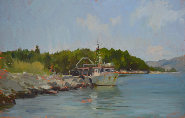Fishing Boat Korcula New Korčula Paintings