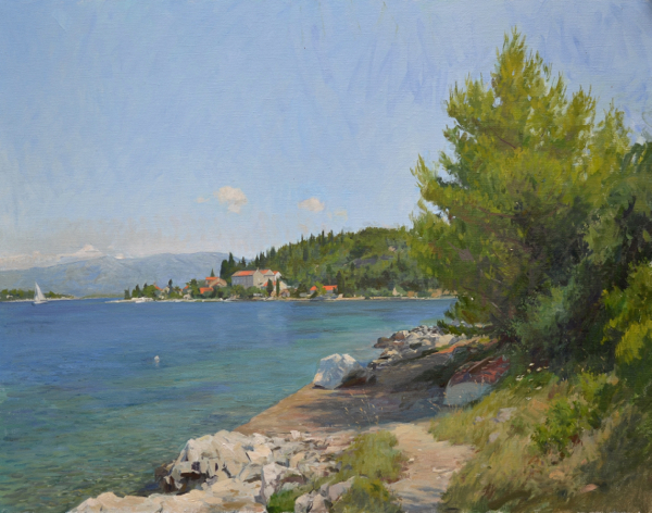 Vrnik Croatia Korčula Paintings, Part Two