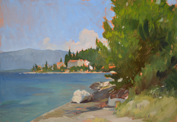 Vrnik Study New Korčula Paintings