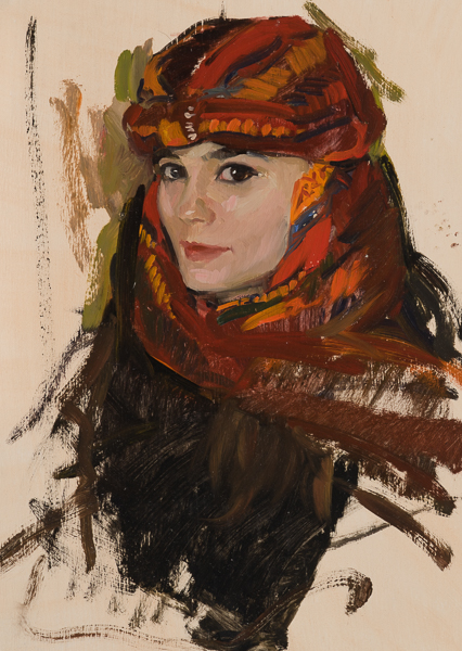 Painting of a Turkish-style Turban.