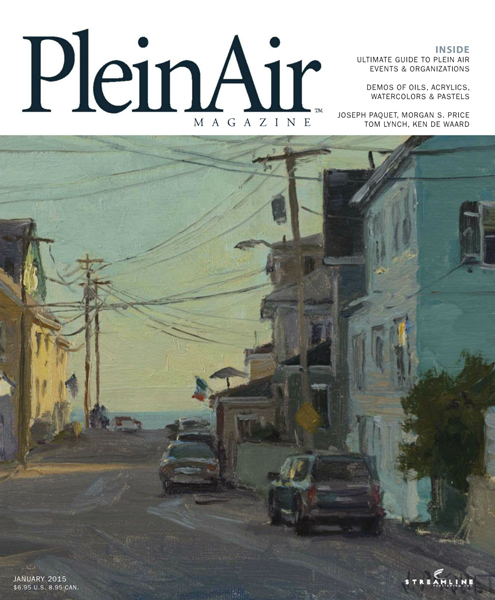 plein air magazine Atelier Book and Plein Air Magazine