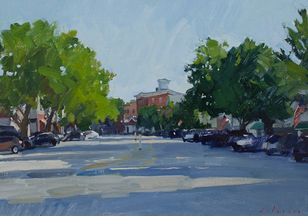 Painting of Sag Harbor.